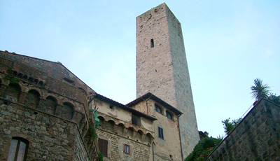 walk through the impressive historical streets of San Gimignano, Florence, Lucca, Volterra
